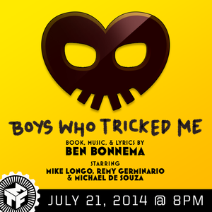Musical Theatre Factory to Present Staged Reading of BOYS WHO TRICKED ME, 7/21