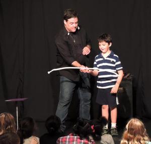 Magician John Tudor to Teach Magic Workshop at Columbia Children's Theatre, 5/9