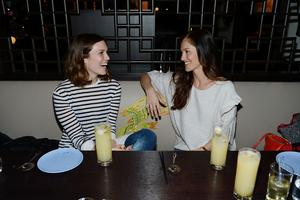 SIGHTING: Minka Kelly and Mandy Moore Dine at Hakkasan Las Vegas Restaurant - Saturday, February 8