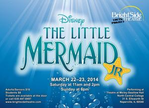 Naperville's BrightSide Theatre Youth Project to Present Disney's THE LITTLE MERMAID, JR., 3/22-23