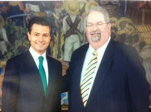 Board Chair of The Mexican Museum Meets with Mexico's President Enrique Peña Nieto