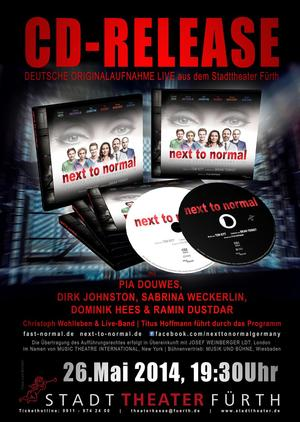 German Cast Recording of NEXT TO NORMAL Out Today