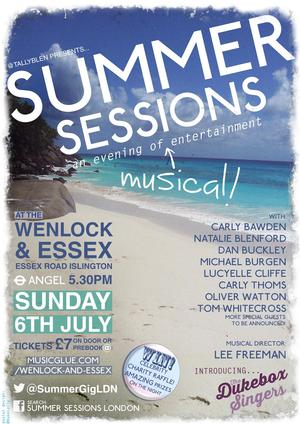 Carly Bawden, Oliver Watton and More Set for SUMMER SESSIONS at The Wenlock & Essex, July 6