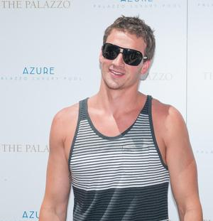 SIGHTING: Olympic Gold Medalist Ryan Lochte Soaks Up Some Sun At Azure Luxury Pool At The Palazzo Las Vegas
