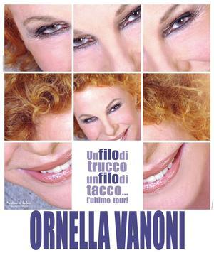 Ornella Vanoni al Teatro Sistina con 'Un filo di trucco un filo di tacco ...l'ultimo tour', 3 marzo