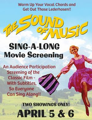 Castle Craig Players Present THE SOUND OF MUSIC Sing A-Long This Weekend