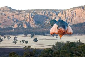 SKYWHALE Sculpture by Artist Patricia Piccinini to Hover Over Adelaide, March 1