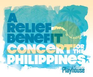 Pasadena Playhouse to Host A RELIEF BENEFIT FOR THE PHILIPPINES, 12/18