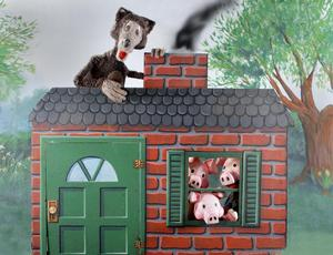 Great AZ Puppet Theater to Present OLD MACDONALD and THE THREE LITTLE PIGS