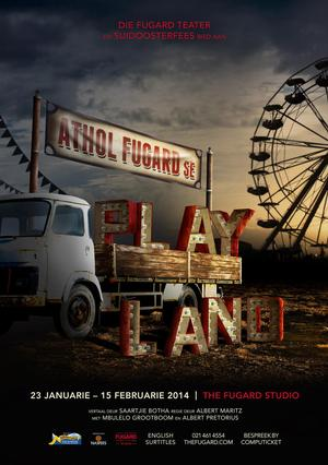 PLAYLAND to Open 23 January at Fugard Studio Theatre