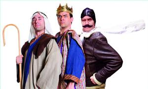 Reduced Shakespeare to Take THE BIBLE: THE COMPLETE WORD OF GOD (ABRIDGED) on Tour, Spring 2014