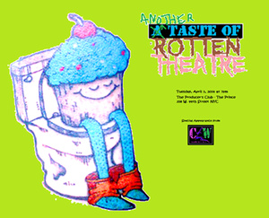 Cupcake Lady Productions to Present ANOTHER TASTE OF ROTTEN THEATRE, 4/1