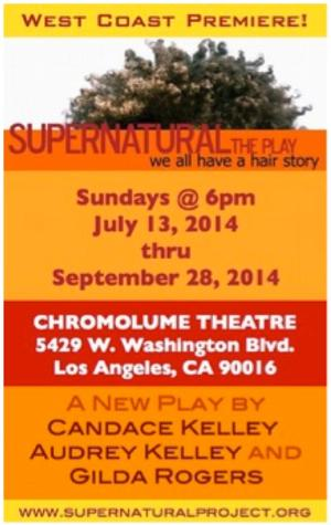 West Coast Premiere of SUPERNATURAL: THE PLAY, Opens at Chromolume Theatre, 7/13