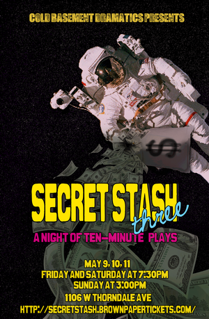 Cold Basement Dramatics' Short Play Festival SECRET STASH III Kicks Off This Weekend