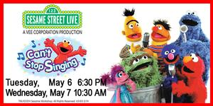 Sesame Street Live CAN'T STOP SINGING Coming to Morris Center, 5/6-7