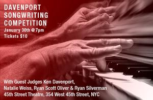 Davenport Songwriting Contest Set for this Week, 1/30