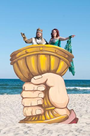 Kelly Briggs Stars in Monty Python's SPAMALOT, Beginning Tonight at NJ's Surflight Theatre