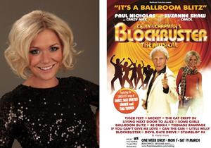 Suzanne Shaw Joins Paul Nicholas in BLOCKBUSTER THE MUSICAL World Premiere at the Orchard Theatre, Sept 11; UK Tour Kicks Off Sept 22