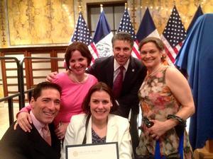 TBTB Receives Sapolin Award from NYC Mayor's Office