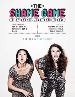 THE SHAME GAME Storytelling Show to Return 9/6 at This Theater