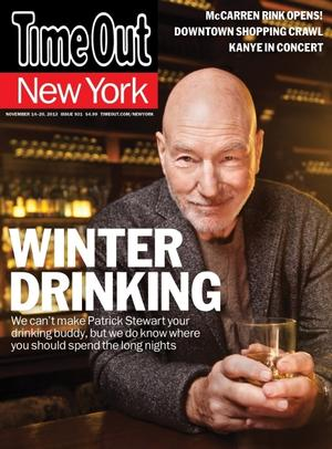 Patrick Stewart Covers Time Out New York; Talks Broadway, X-MEN & More