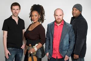Karen Briggs and the Tizer Jazz Quartet Play Centenary Stage Tonight