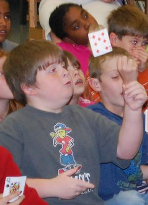 Magician John Tudor Teaches Children's Magic Workshop at CCT Today