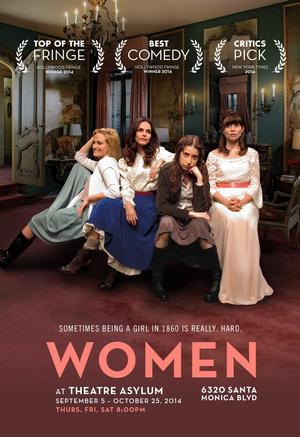 WOMEN to Open 9/5 at Asylum Theater