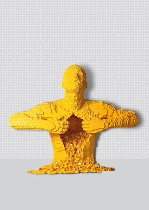 Lego Sculptor Nathan Sawaya's THE ART OF THE BRICK Exhibition to Open on Brick Lane Next Month