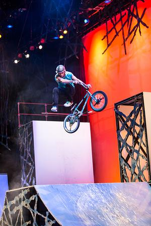 BMX-Driven ALL WHEEL SPORTS to Play Eccles Center, 12/7