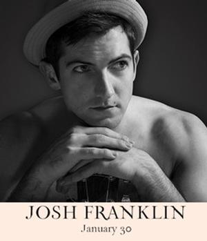 Josh Franklin Set for 54 Below Album Release Concert on January 30