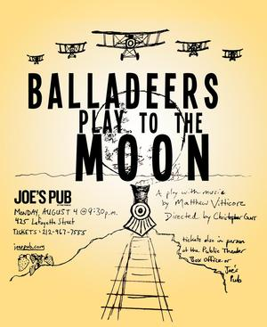 ALL THE WAY's Christopher Gurr to Direct Staged Reading of BALLADEERS PLAY TO THE MOON at Joe's Pub, 8/4
