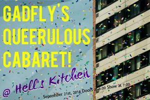 Gadfly's 2014 QUEERulous Cabaret Comes to Minneapolis, 9/21