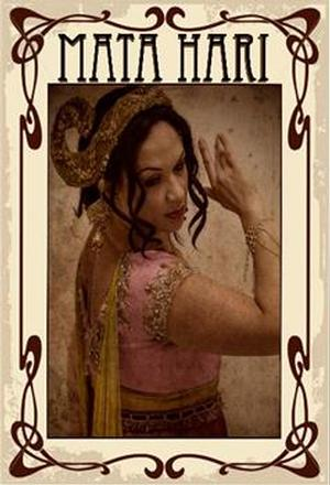 Aletia Upstairs Presents MATA HARI at Brighton Fringe 2014, May 10-12
