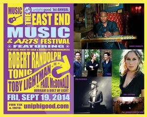 Robert Randolph and Tonic, Paul McDonald, Toby Lightman and More Set for 2014 East End Music & Arts Festival, 9/19-20