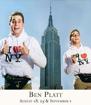 THE BOOK OF MORMON's Ben Platt to Bring I'M HERE to 54 Below, 8/18, 8/25 & 9/1