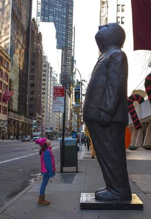 THINK BIG Sculpture by Jim Rennert to Arrive in New York's Union Square Park, 6/5