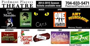 Piedmont Players Theatre Announces 54th Season