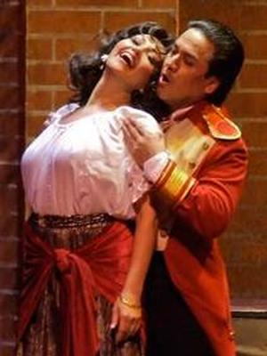 TEATRO LIRICO D'EUROPA - CARMEN Set for Moran Theater, 3/7