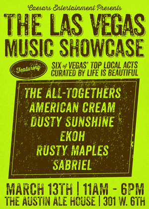 Life is Beautiful Curates Music Showcase During SXSW Today