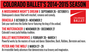 Colorado Ballet Presents AN EVENING UNDER THE STARS at Arvada's Outdoor Amphitheater Tonight