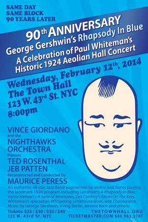 90th Anniversary Celebration of Rhapsody in Blue Set for The Town Hall, 2/12