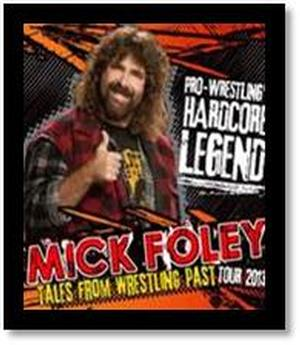 Mick Foley Brings 'Tales From Wrestling Past' National Tour to Comix At Foxwoods