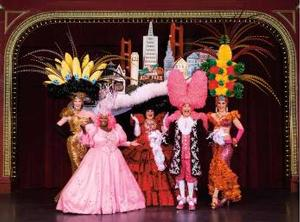 STEVE SILVER'S BEACH BLANKET BABYLON Set for City Hall, 6/6