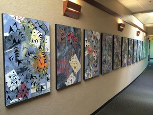 Navigating New Literacies Features Granger High School Art, Now thru 8/27