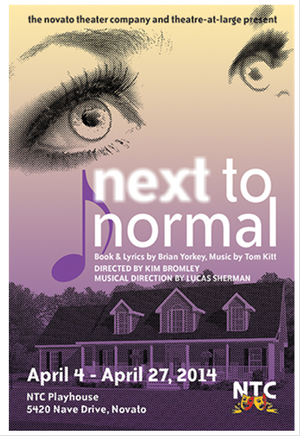 Novato Theater Company & Theatre-at-Large to Present NEXT TO NORMAL, 4/4-27