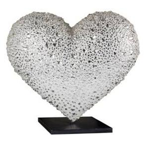 SFGH Foundation Reveals Swarovski Crystal Table-Top Heart for 2014 'Hearts in San Francisco', 2/13