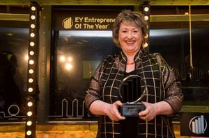 Rosemary Squire Named the EY Master Entrepreneur of the Year of 2014 in the London South Region