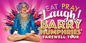 Barry Humphries to Bring FAREWELL TOUR to King's Theatre, 11-15 Feb