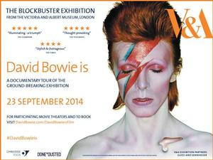 DAVID BOWIE IS Documentary Comes to US Theaters, Beginning 9/23